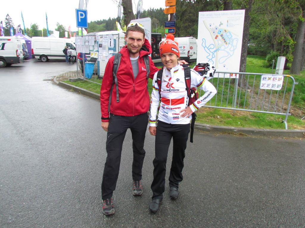 Fota z Majką....bo ostatnia jaką miałem to z MP w maratonie 2005 :)