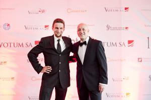 Z Dariuszem Cyżem prezesem Votum S.A. ....i prezesem MTB Votum Team też oczywiście :)