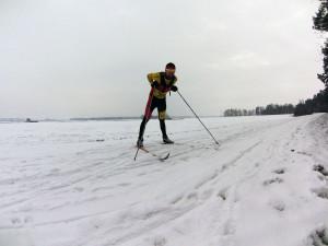 Dobrze jest znów mieć przypięte narty :)