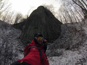 Nek wulkaniczny- Małe Organy Myśliborskie