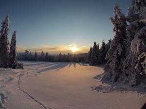 Taki zachód słońca
