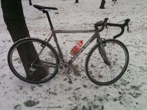 Tak się prezentuje rowerek.