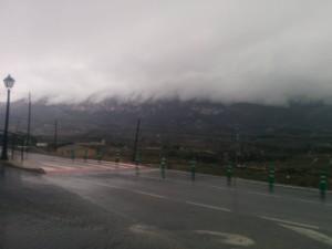 Burza w Hiszpani- też ładny widok ;)