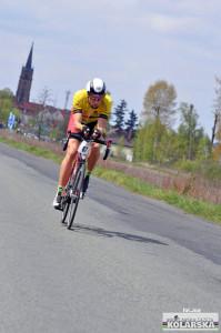 Początek wyścigu fot. Joanna Wołodźko Wrocławska Gazeta Kolarska
