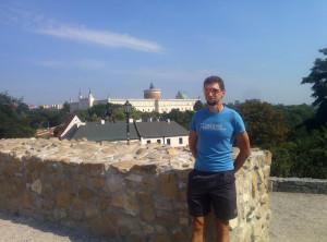 Michał na ruinach Kościoła św. Michała Archanioła :)