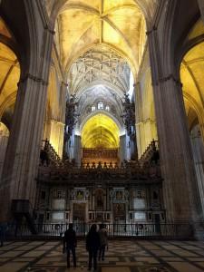 Katedra w Sewilli, to co na mnie zrobiło największe wrażenie w tym mieście