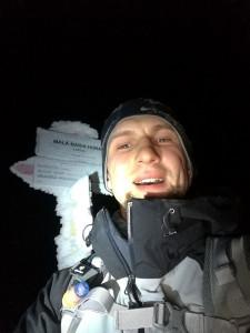 Mała Babia Góra nocą :)